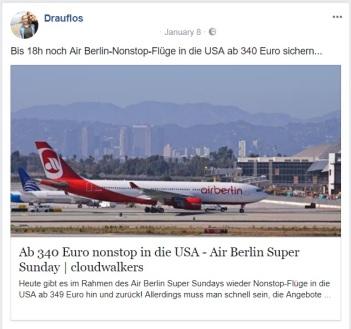 Air Berlin Schnäppchen