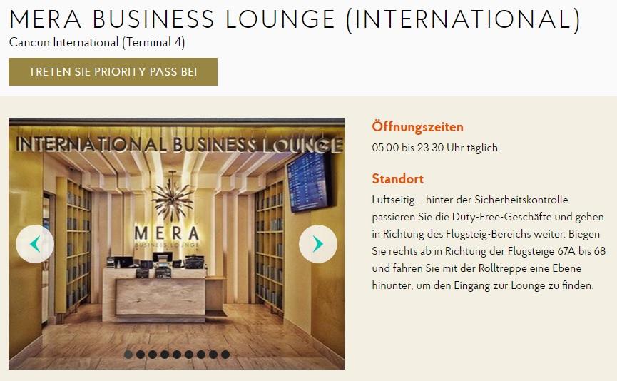 Cancun Business Lounge